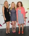 Gwyneth Paltrow, Amanda De Cadnet y Diane Von Furstenberg.