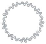 Collar de Montblanc de la colección de joyas, inspirada en la princesa Grace de Mónaco.