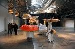 Garage, ubicada en un exparqueadero de buses, es una de las galerías dedicadas al arte comtemporáneo en Moscú.