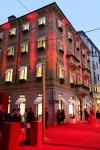 El edificio de cuatro pisos, ubicado en la vía Montenapoleone en Milán.