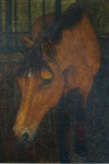Christine plasma la nobleza, belleza y expresión de los caballos en sus obras.