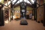 La hostería Rumipamba de las Rosas se caracteriza por ser un refugio colonial, rústico, ideal para visitar en familia.