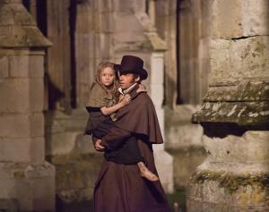 Imagen de la película Los Miserables, basada en la novela clásica del escritor francés Victor Hugo.