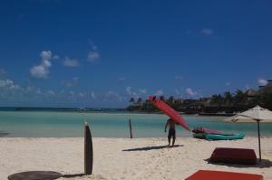 Una de las playas de Islas Mujeres.