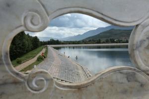 El reservorio de agua Qing Xi Shui Ku está entre Lijiang y Baisha, que es la capital original de los Naxi.