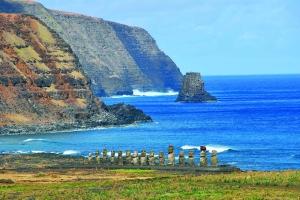 El autor explica en su guía a qué temen los nativos de la isla de Pascua cuando cae la noche.