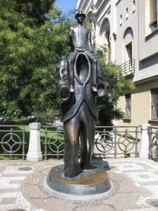 Monumento a Kafka.