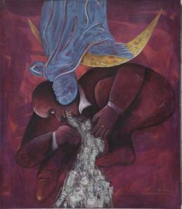 El artista asegura que en su obra ha tocado temas de problemas sociales como la migración.