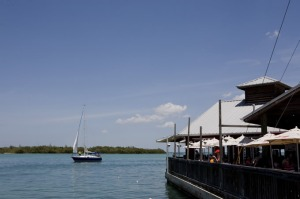 "El restaurant ""The old salty dog"" en Sarasota."