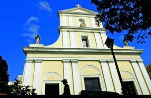 Fachada de la catedral de San Juan.