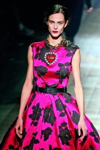Vestido de la colección ready-to-wear otoño invierno 2013-2014 de Lanvin.