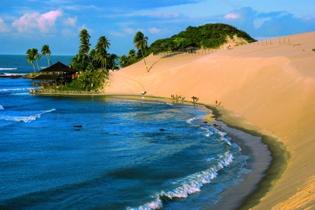 Playa de Jenipabu.