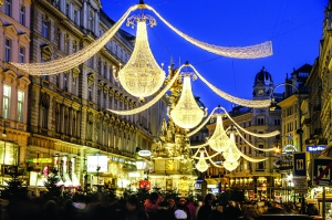 'Weihnachtsmärkte' en la capital austriaca, Viena.