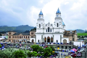 La iglesia de El Quinche.