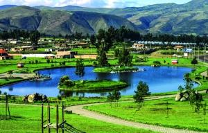 Cayambe y su parque recreativo.