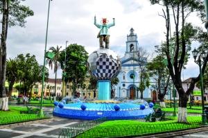 Plaza de Cayambe.