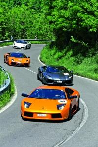 La caravana recorrió algunas ciudades italianas, como Milán, Roma y Bolonia.