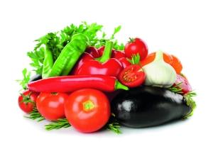Los vegetales contienen altos niveles de vitaminas, minerales y fibra, con un bajo contenido de calorías.