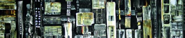 Paúl define su arte dentro de ua línea expresionista, muy aventurera.