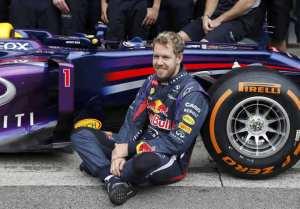 Vettel recibió la copa del 2013 en la gala de la Federación Internacional de Automovilismo.
