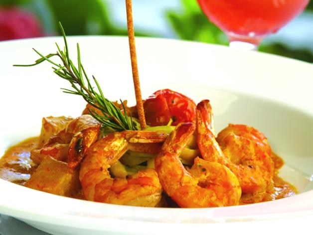 Los mariscos forman parte de la propuesta gastronómica del hotel.