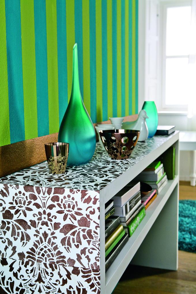 Otro ejemplo de elementos que logran un ambiente acogedor for De que color de papel tapiz para un corredor