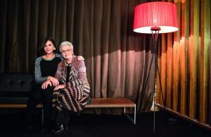 Margherita Missoni junto a su abuela, Rosita Missoni, fundadora de la marca.