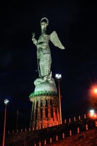 Virgen del Panecillo.