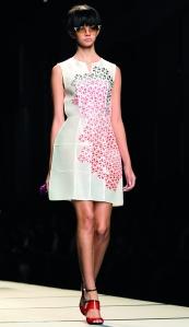 Vestido de la colección primavera-verano 2014 de la marca
