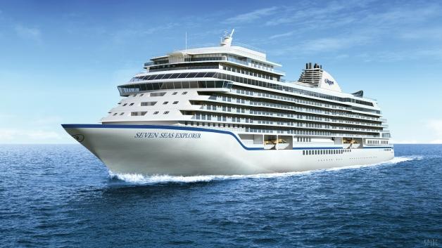 """El """"Seven Seas Explorerer"""" está considerado el cruceo más lujoso del mundo."""